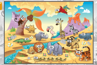 Animal Puzzle for Kids--